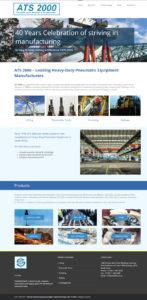 ATS 2000 Website Development