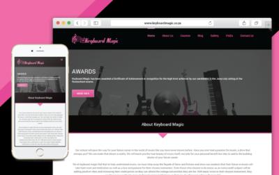 Keyboard Magic Website Development