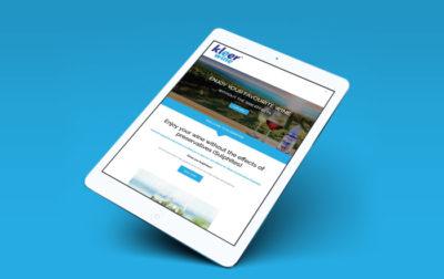 Kleerwine Website Development