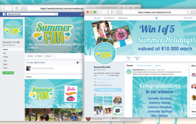 Summer Fun website development