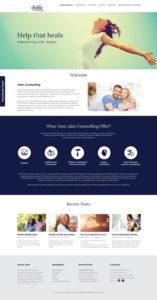 Jalex Counselling Website Design
