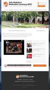 SMMS Website Design