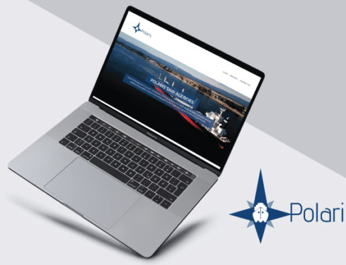 Polaris Shipping Website Design
