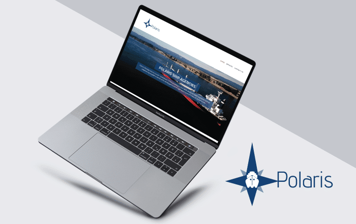 Polaris Shipping Agency Website Development